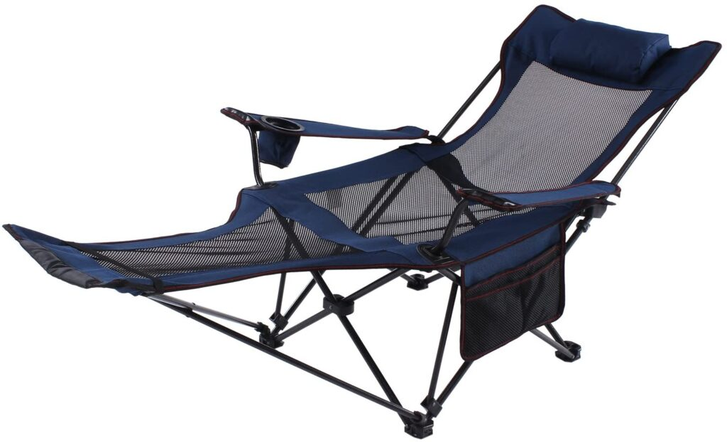 Best Reclining Camping Chairs With Footrest