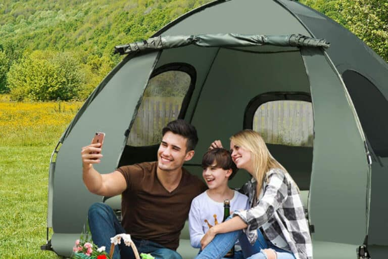 Tent Cot for Elevated Camping