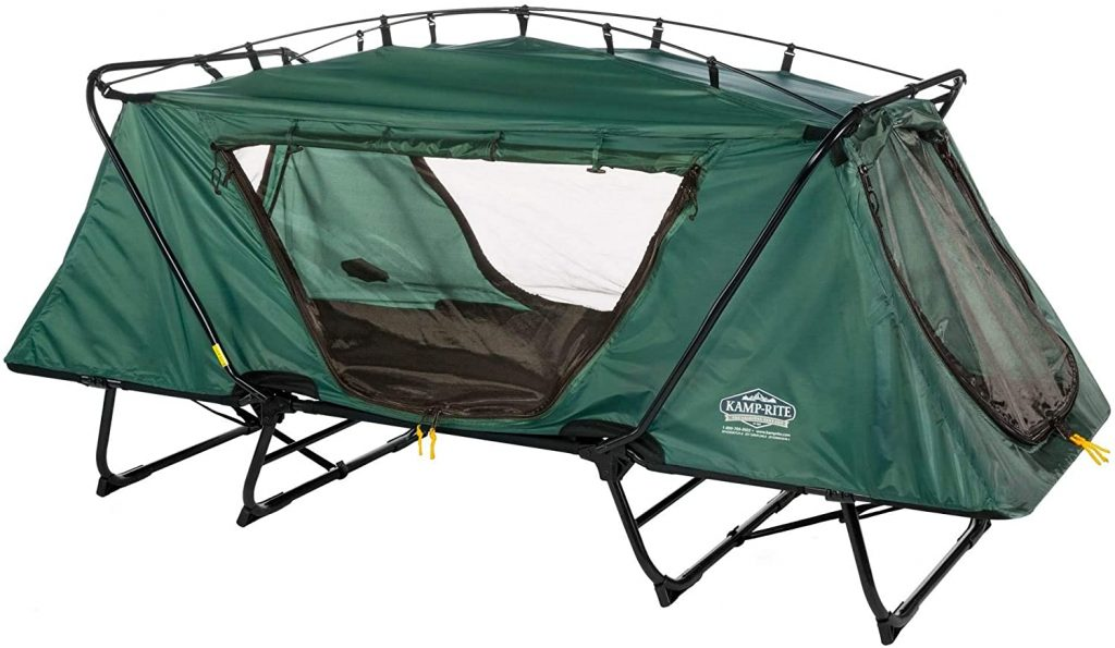 Best Tent Cots For Elevated Camping