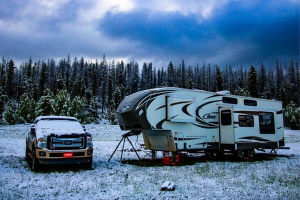 HOW TO HEAT A CAMPER WITHOUT ELECTRICITY